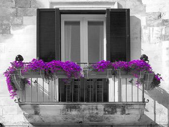 Balconi e Verande in fiore