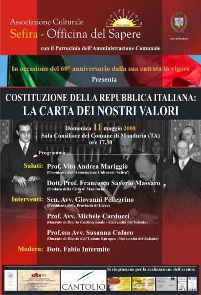 Costituzione della Repubblica Italiana: la nostra identità