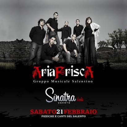L'ARIA FRISCA IN CONCERTO AL SINATRA HOLE