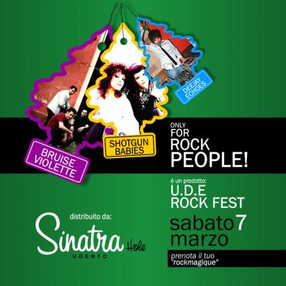 U.D.E. ROCK FEST AL SINATRA HOLE