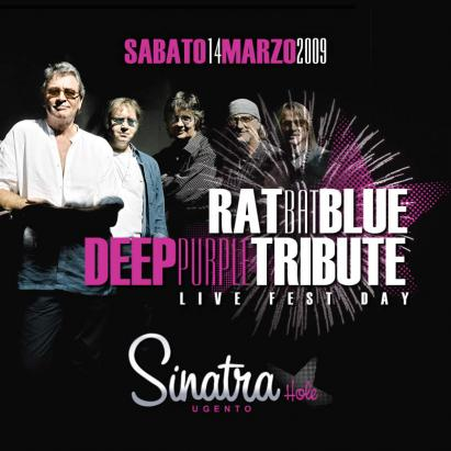 DEEP PURPLE TRIBUTE BAND AL SINATRA HOLE